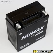 Numax YB9-B Batterie AGM Wartungsfreie Säure Piaggio Liberty,  Aprilia SR, Honda CM 125 ...