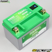 Fulbat FLTZ10S 12V 4Ah batteria al litio Aprilia Habana,  Derbi Atlantis, Keeway ...