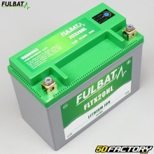 Fulbat FLTX20HL 12V 7Ah batteria al litio Kymco MXU, Polaris Sportsman,  Yamaha YFM Grizzly ...
