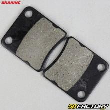 Plaquettes de frein organique Piaggio MP3 125, 400, 500, X10, Honda Silver Wing 600... Braking