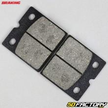 Plaquettes de frein organique Benelli SEI 750, BMW R80 800, Ducati Paso 750... Braking