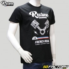 Tee-shirt Restone Mechanic noir