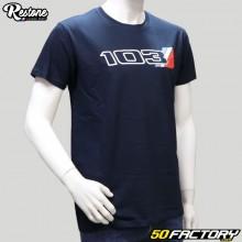 Tee-shirt Restone Mob 103 bleu