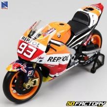 Motocicleta en miniatura Honda Repsol RC1V Marquez Nuevo Ray