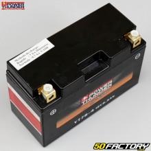 Bateria Power Thunder YT7B-4 12V 6,5Ah manutenção sem ácido Suzuki DR-Z Sherco SE, Kawasaki KLX ...