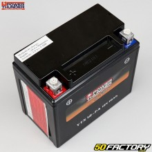 Batterie Power Thunder YTX12-FA 12V 10Ah acide sans entretien Aprilia Atlantic, Gilera, Kymco...