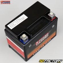 Batterie Power Thunder YTX4L-FA 12V 3Ah acide sans entretien Derbi Senda, Gilera SMT, Rieju...