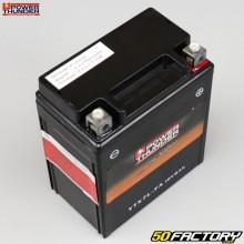 Batterie Power Thunder YTX7L-FA 12V 6Ah acide sans entretien Hanway Furious, Honda, Piaggio, Vespa...