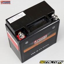 Batterie Power Thunder CB9-B-FA 12V 9Ah acide sans entretien Vespa PX 200, Gilera Runner 125...