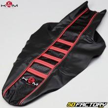 Housse de selle Beta RR 50, Motard, Track (2004 - 2010) KRM Pro Ride rouge