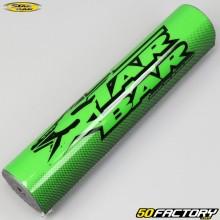 Espuma del manillar (con barra) Star Bar MX verde y negro
