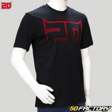 Camiseta El Diablo Fabio Quartararo 20 negra
