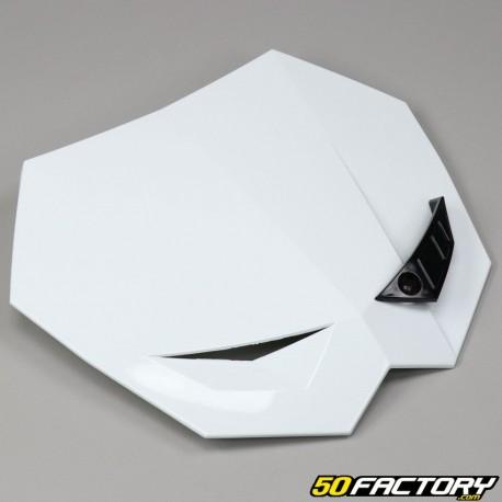 Startnummerntafel Scheinwerfer Maske cross weißer KTM-Typ
