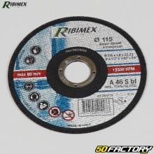 Stainless steel cutting disc Ø115mm Ribimex