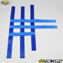 Nerf bars straps Yamaha YFM Raptor 350, 660, Honda TRX 250 ... Motorsport Products blue