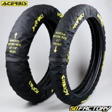 """Housses de pneus 18""""-19"""" et 21"""" Acerbis X-Tire noires"""