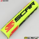 Handlebar Ø22mm Scar S² High black with fluorescent yellow foam
