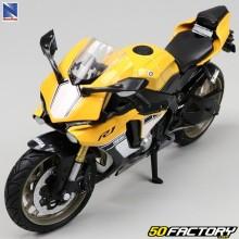 Motocicleta en miniatura 1 / 12e Yamaha R1 Nuevo Ray