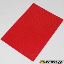 Roter Carbonaufkleber 250x350mm (Platine)