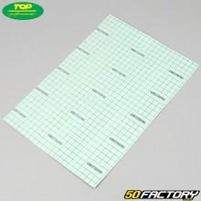 0.5mm papel de corte de folha plana Top Performances