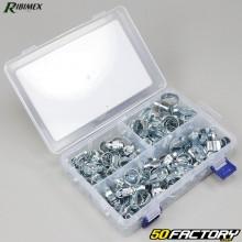 Abrazaderas de manguera de acero Ribimex (juego de 80)