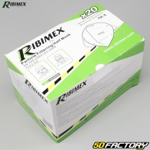 Masques FFP2 Ribimex (lot de 20)