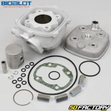 Cilindro de pistón de aluminio Ø40mm Minarelli horizontal líquido MBK Nitro,  Yamaha Aerox... 50 2T Bidalot