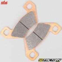 Sintered metal brake pads Arctic Cat TRV 400, Diesel 700, Polaris Hawkeye 300 ... SBS Racing