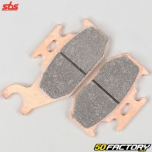 Front right sintered metal brake pads Suzuki Kingquad 450, 700 and 750 ... SBS Racing