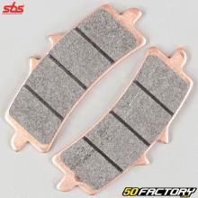Sintered metal brake pads Aprilia RSV4 1000, BMW HP2 Sport 1200, Husqvarna FS 450 ... SBS