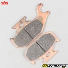 Sintered metal front left brake pads Suzuki Kingquad 450, 700 and 750 ... SBS Racing