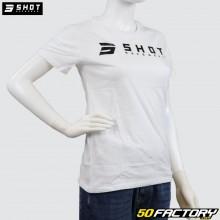 Damen-T-Shirt Shot Weißes Team
