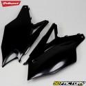 Carénages arrière Kawasaki KXF 250, 450 (depuis 2017) Polisport noirs