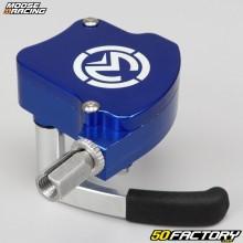 Gatilho de gás universal de alumínio Moose Racing Azul