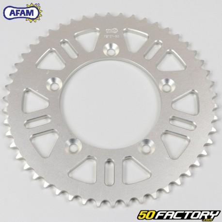 Corona 50 denti in alluminio 420 Husqvarna CR, TC 65, KTM SX 60, 65 ... Afam