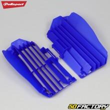 Grilles de radiateurs Yamaha YZF, WR-F 250, 450 (depuis 2018) Polisport bleues