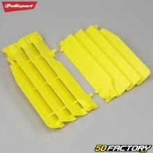 Grades do radiador Suzuki RM-Z 250 (2010 - 2018) Polisport amarelos