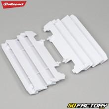 Grades do radiador Yamaha YZ 125, 250 (desde 2005) Polisport branco