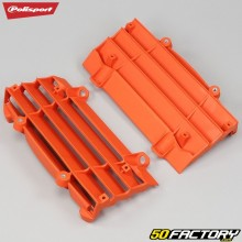 Grilles de radiateurs Husqvarna FC, TC, KTM SX, EXC... 125, 150, 300... (depuis 2016) Polisport oranges