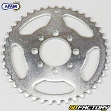 Corona 43 denti in acciaio 420 Kawasaki AE 80, KLX 110 ... Afam