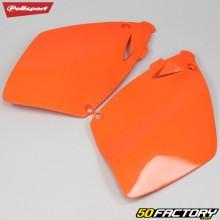 Carénages arrière KTM SX, EXC 125, 200, 250... (1998 - 2003) Polisport oranges