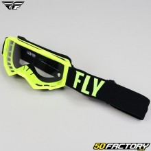 Goggles Fly Focus taille enfant jaune fluo et noir