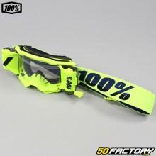 Gafas 100% Accuri 2 Forecast roll-off amarillo neón