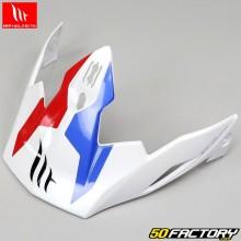 Visière pour casque (modulable jet) MT Helmets Streetfighter Twin bleu, blanc, rouge