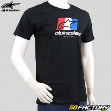 Camiseta Alpinestars World Tour negra