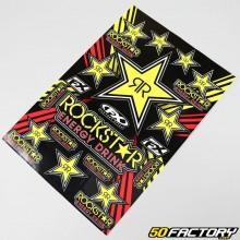 Aufkleber Rockstar Energy 49x33cm (Brett)
