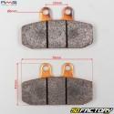 Plaquettes de frein avant métal fritté Aprilia Scarabéo, Red Rose, Sportcity, Honda...