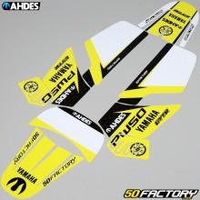 Kit déco Yamaha PW 50 Ahdes jaune