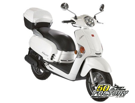 fiche technique scooter 50cc kymco like 4t. Black Bedroom Furniture Sets. Home Design Ideas