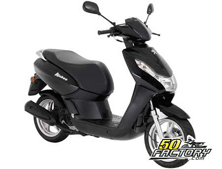 fiche technique scooter 50cc peugeot kisbee 2t. Black Bedroom Furniture Sets. Home Design Ideas